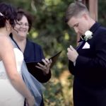 He Starts Telling his Vows to his Bride