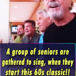 A group of seniors are gathered to sing, when they start this 60s classic!! Wow I am speechless!