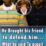 He Brought his friend to defend him