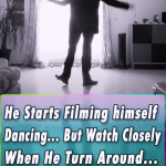 He Starts Filming himself Dancing…But Watch Closely When He Turn Around …AMAZING!