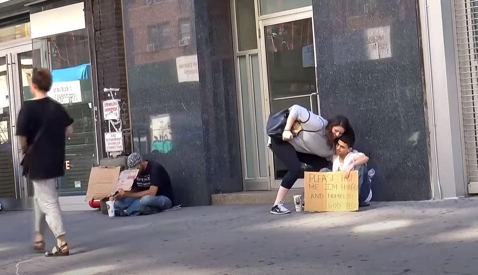 pranks, social experiment,viral video,homeless people,homeless man,mistreatement,mistreat people