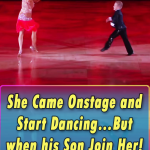 She Came Onstage and Start Dancing…But when his Son Join Her! UNBELIEVABLE!