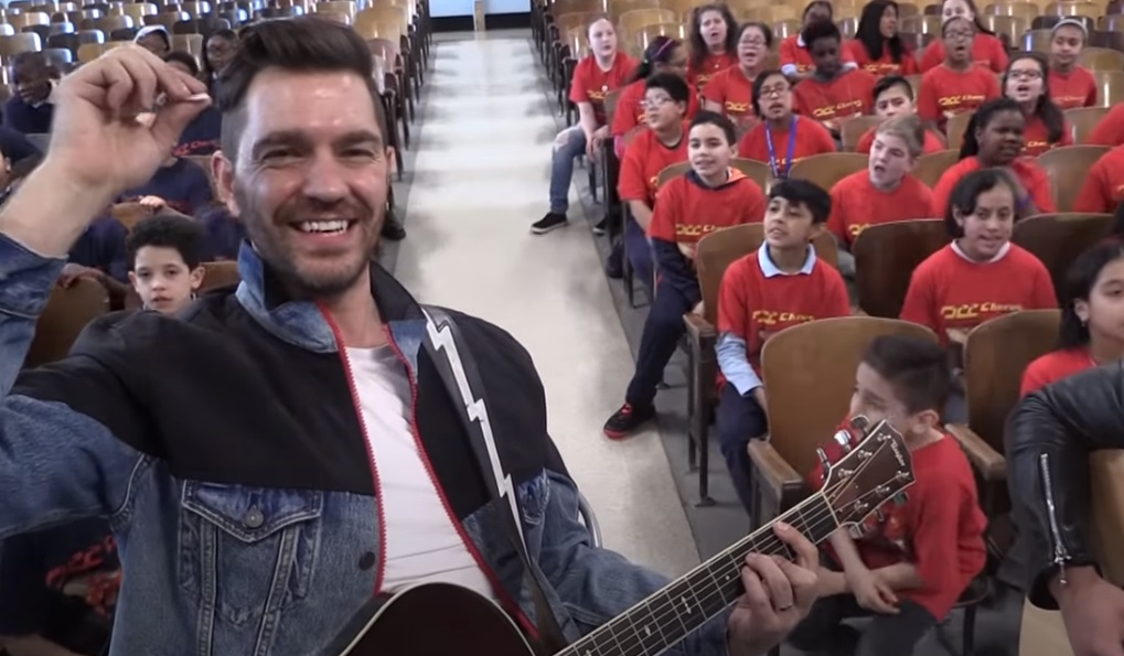 Andy Grammar, don't give up on me, best song, kids song, music school, music, song, ps22 chorus