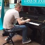 Passenger Sits Down At Public Piano.When He Starts Playing? STUNNING