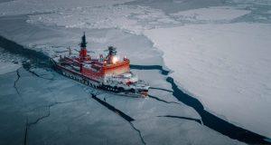 Ice breaker, powerful, big ship, russia, uranium, nuclear, antarctica, Ship, amazing, Photography, high quality,