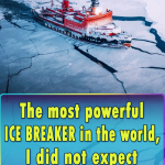The most powerful ice breaker in the world